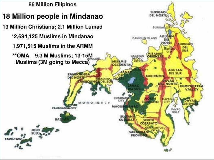 86 Million Filipinos
