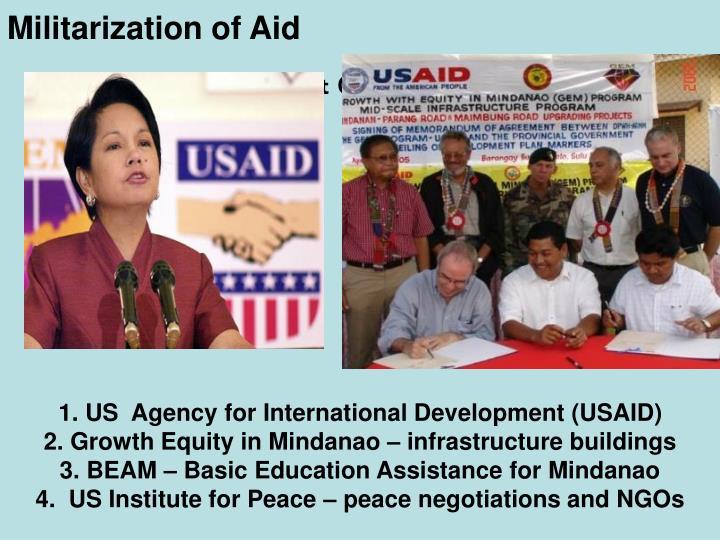 Militarization of Aid