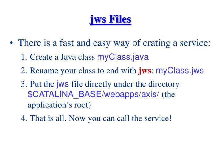 jws Files