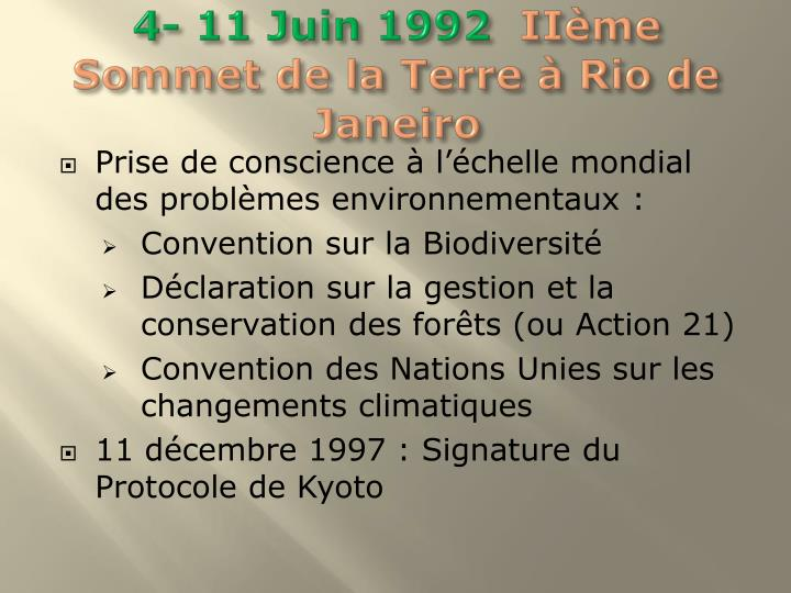 4- 11 Juin 1992