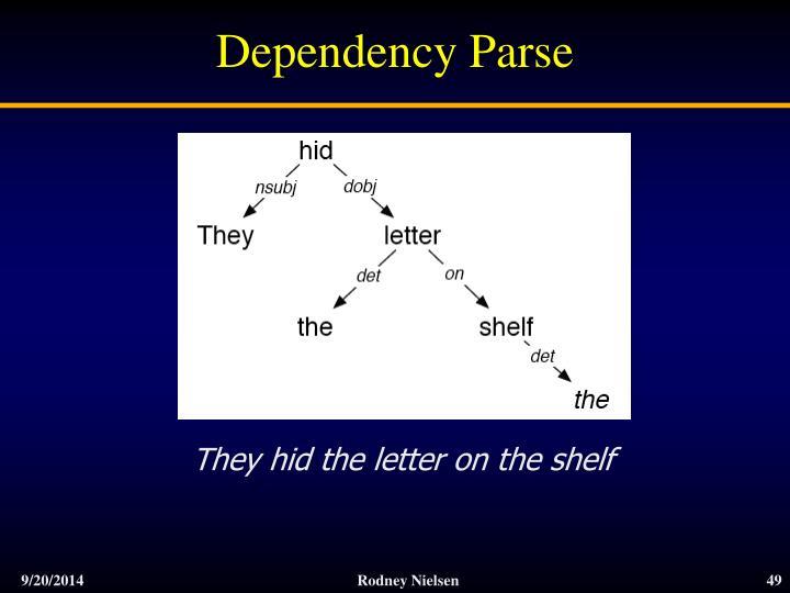 Dependency Parse