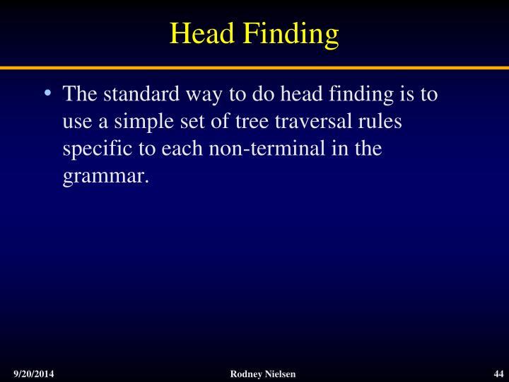 Head Finding