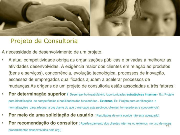 Projeto de Consultoria