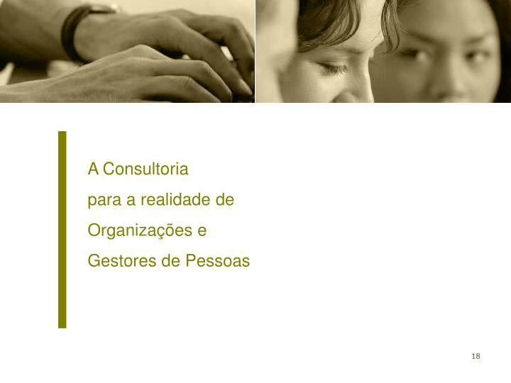 A Consultoria