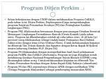 program ditjen perkim 1