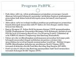 program p2bpk 1