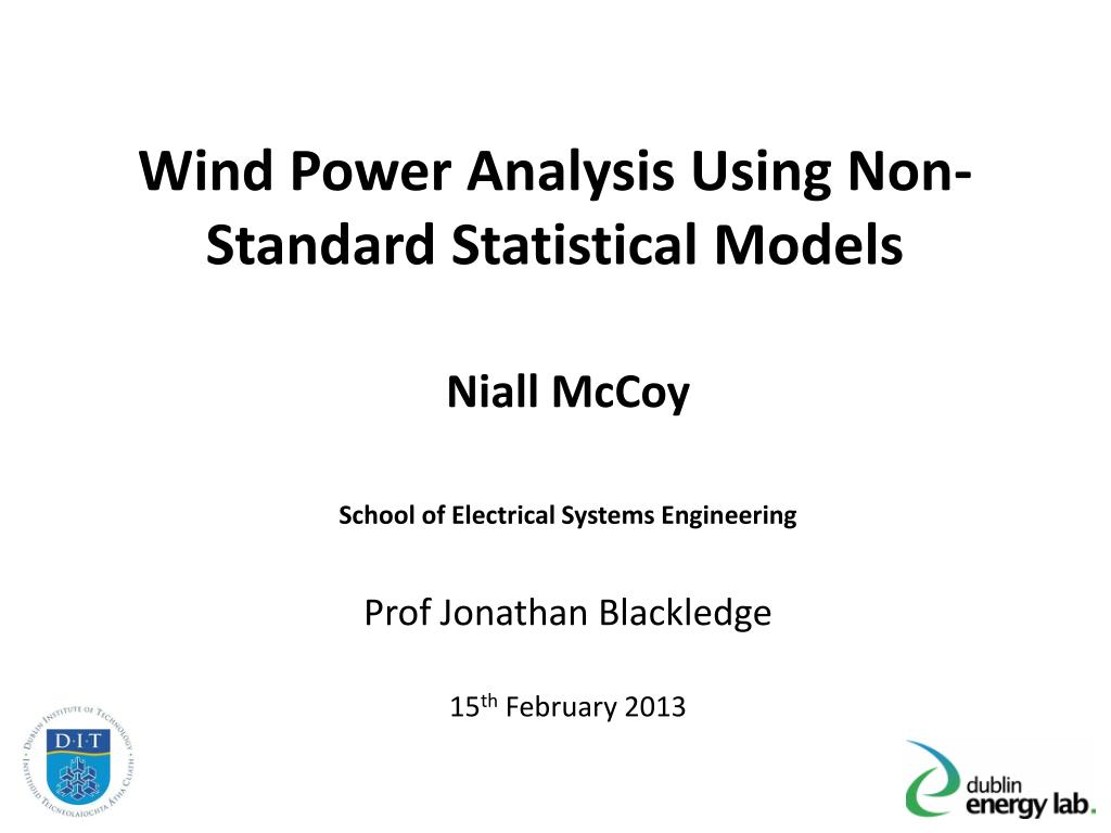 Ppt building of statistical models powerpoint presentation id.