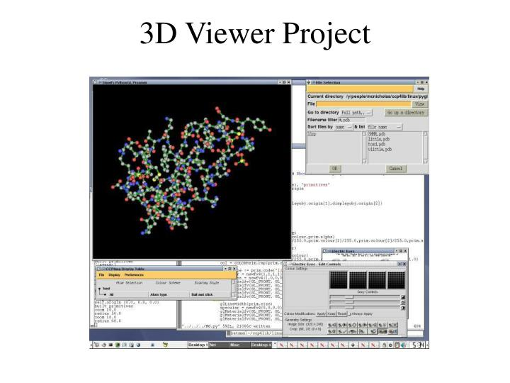 3D Viewer Project