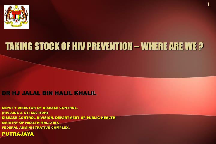 taking stock of hiv prevention where are we n.