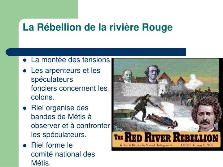 LaRébellion de la rivièreRouge