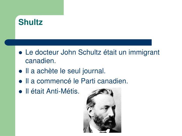 Shultz