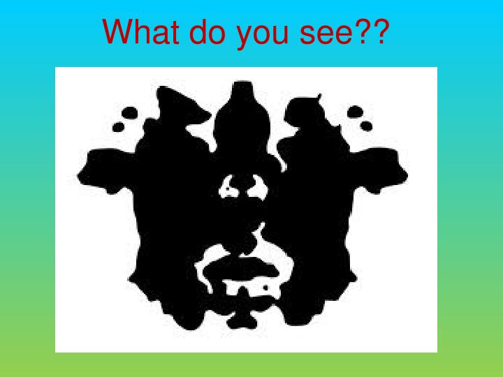 What do you see??