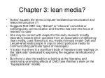 chapter 3 lean media