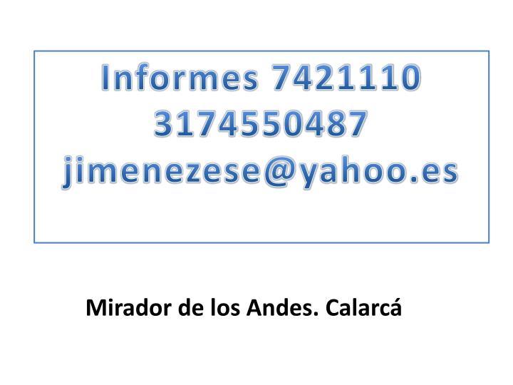 Informes 7421110