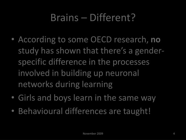 Brains – Different?
