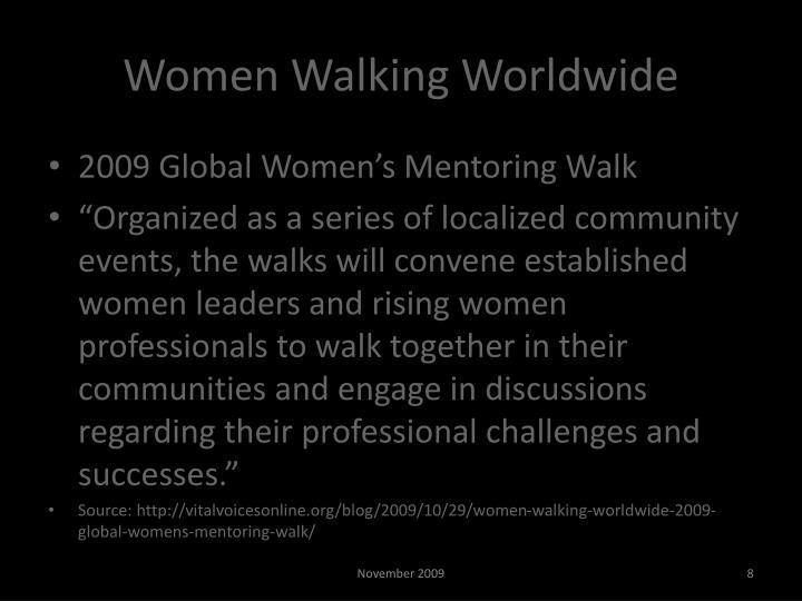 Women Walking Worldwide