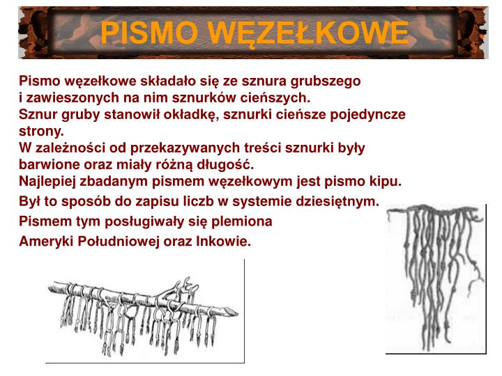 PISMO WĘZEŁKOWE