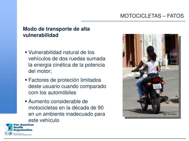 MOTOCICLETAS – FATOS