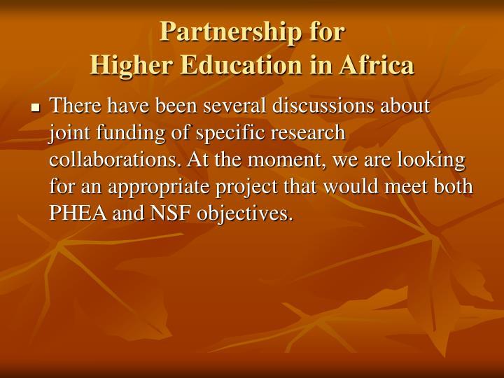 Partnership for