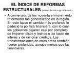 el ndice de reformas estructurales hubert escaith e igor paunovic2