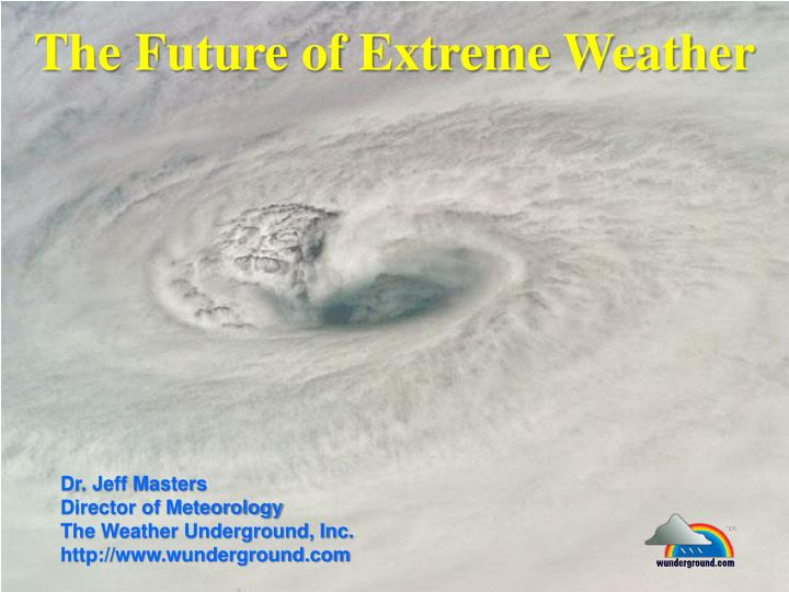 the future of extreme weather n.