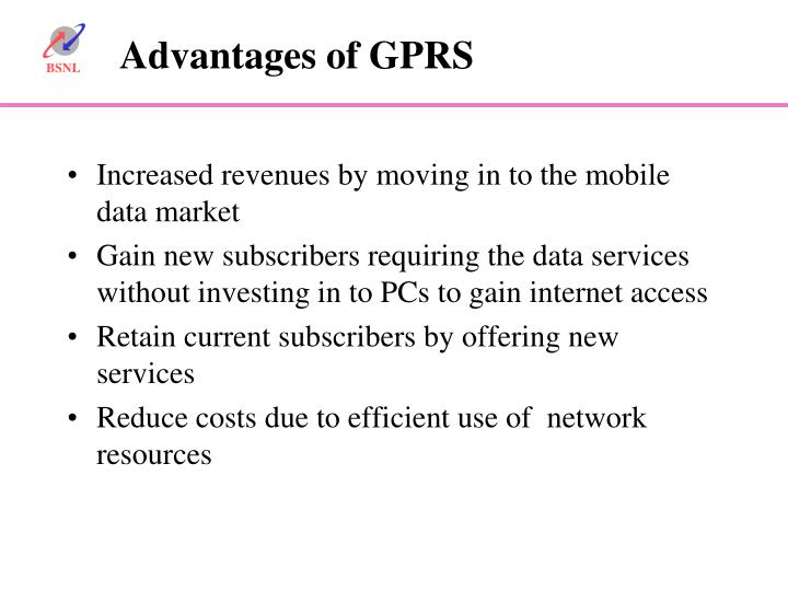 Increased revenues by moving in to the mobile data market