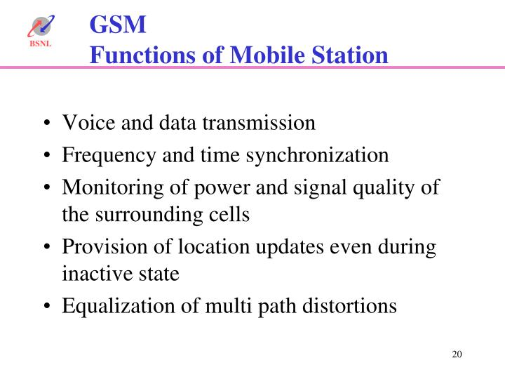 Voice and data transmission