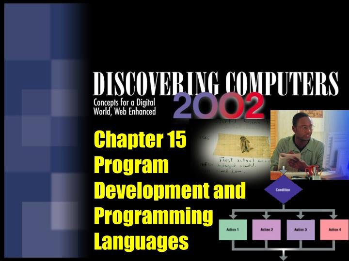 chapter 15 program development and programming languages n.