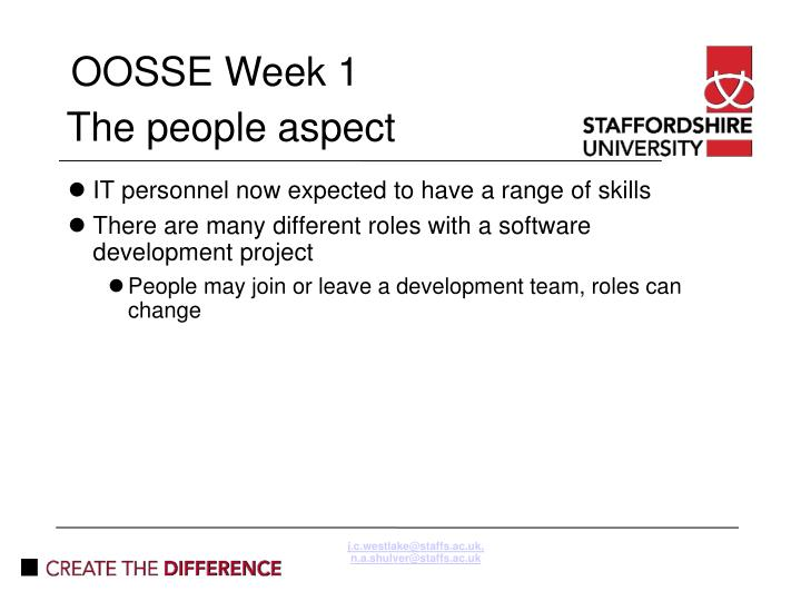j.c.westlake@staffs.ac.uk, n.a.shulver@staffs.ac.uk