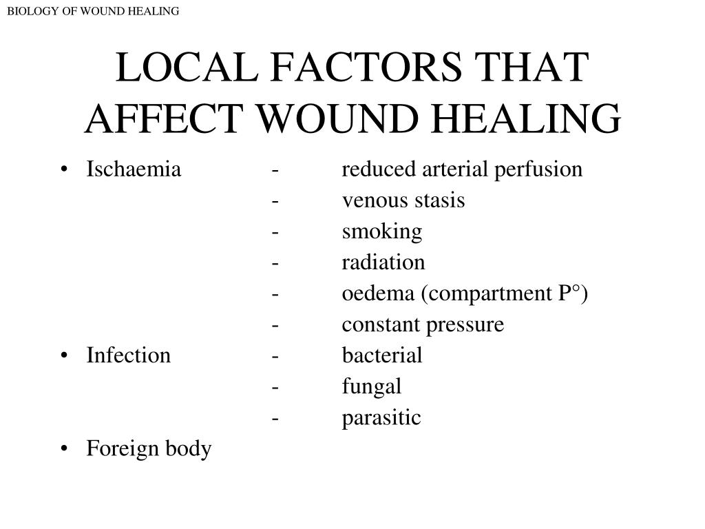 PPT - DEFINITION OF A WOUND PowerPoint Presentation - ID:4620398