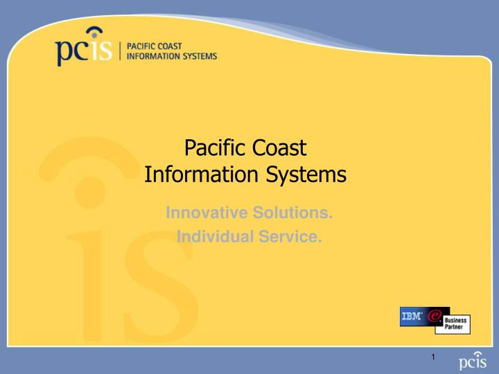 pacific coast information systems n.