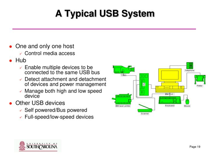 A Typical USB System