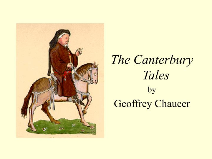 the medieval christian church in the canterbury tales by geoffrey chaucer