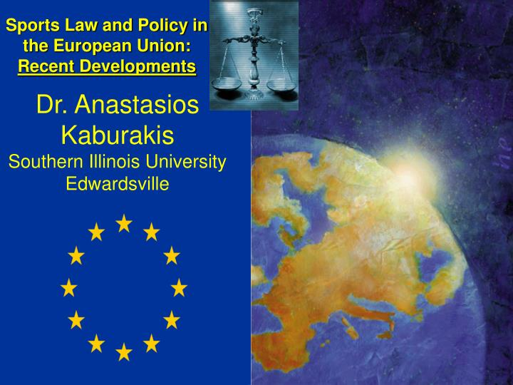 sports law and policy in the european union recent developments n.
