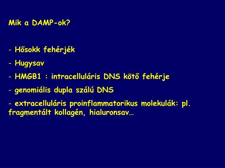 Mik a DAMP-ok?