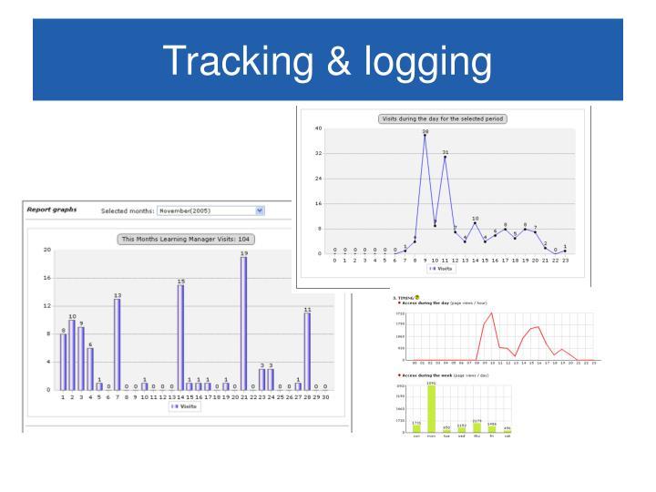 Tracking & logging