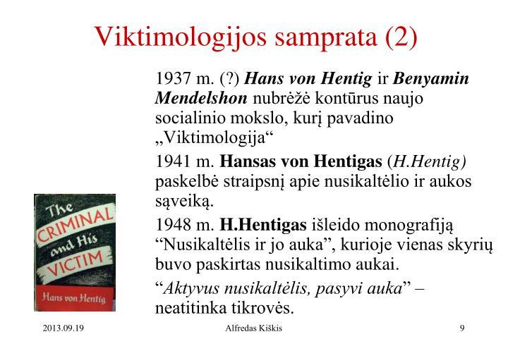 Viktimologijos samprata (2)