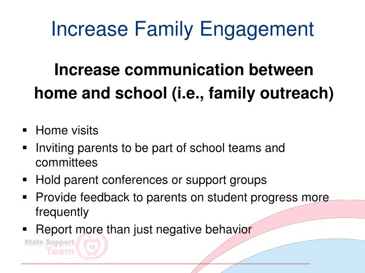 Increase Family Engagement