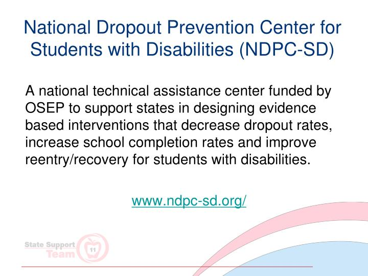 National Dropout Prevention Center for Students with Disabilities (NDPC-SD)