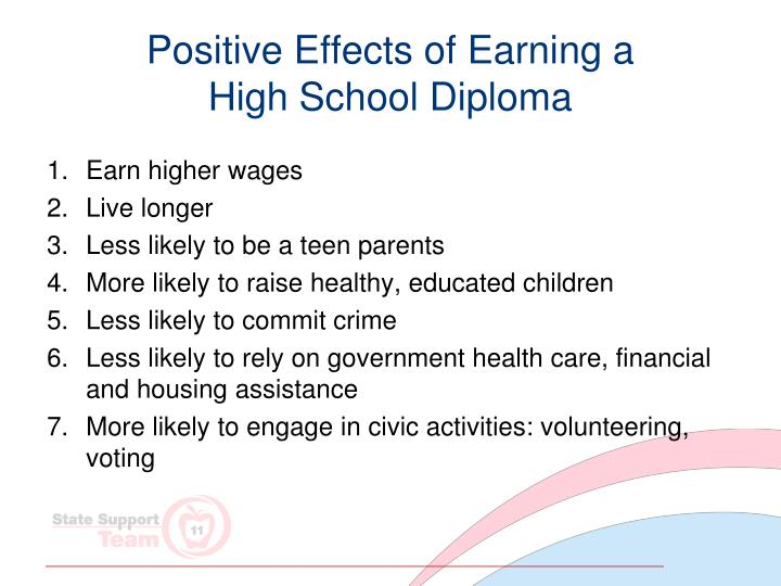 Positive Effects of Earning a
