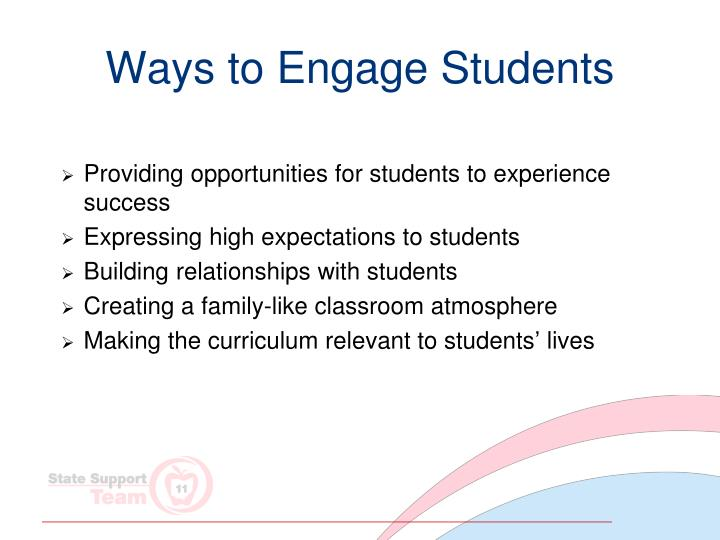 Ways to Engage Students