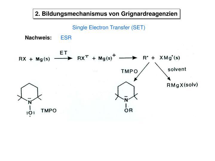 2. Bildungsmechanismus von Grignardreagenzien