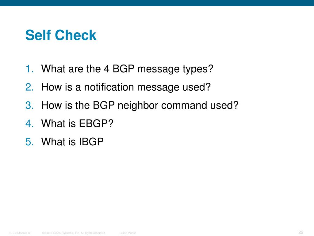 PPT - Configuring Basic BGP PowerPoint Presentation - ID:4622656