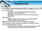 viewport bar