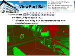 viewport bar10