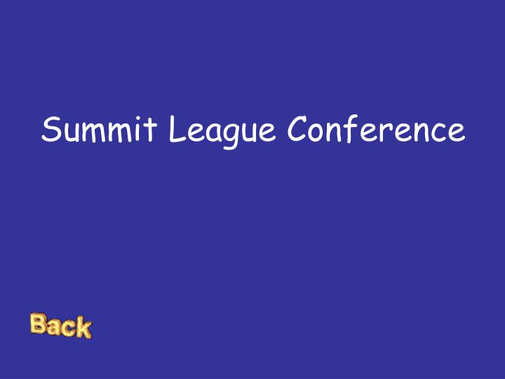 Summit League Conference