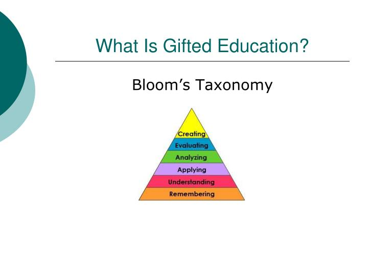 What Is Gifted Education?