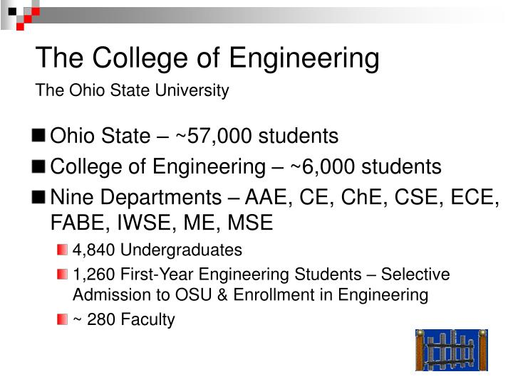 The College of Engineering
