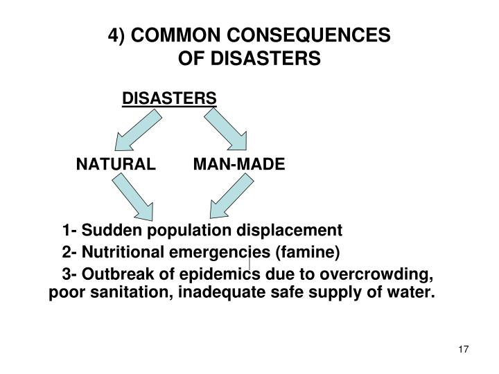 4) COMMON CONSEQUENCES