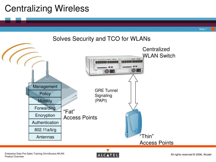Centralizing Wireless